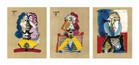 imaginary portraits (set of 29) by pablo picasso