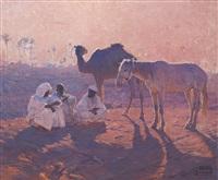 la halte des nomades by adam styka