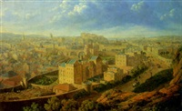 edinburgh from the calton hill by lieutenant colonel robert batty