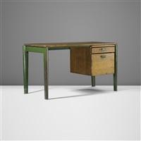 dactylo desk, model bd 41 by jean prouvé