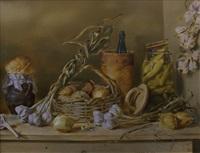 garlic & pickles by boris leifer