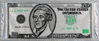 10 us dollar banknote by liu zheng