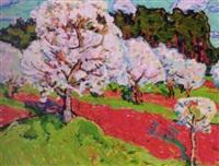 apple blossom by yuri sergeyevich kolosovski