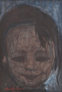 child's portrait by avni arbas