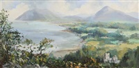 view over killiney bay by anne tallentire