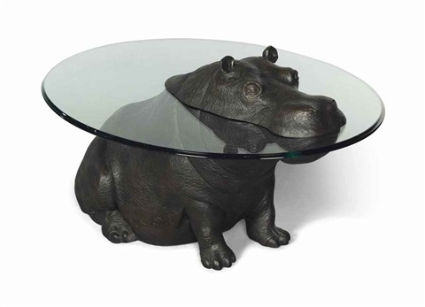 Cheeky Hippo Occasional Table By Mark Stoddart On Artnet - Hippo coffee table