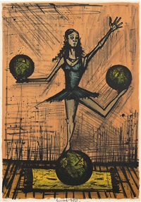 mlle. x by bernard buffet