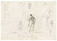 putting the best foot foremost by george cruikshank