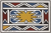 untitled by esther mahlangu