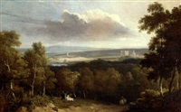 rochester with chatham beyond by george arnald