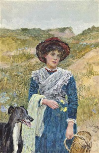 across the sand dunes by lionel percy smythe