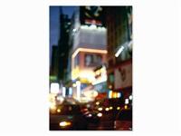 lambda color print, night traffic, usa by david armstrong
