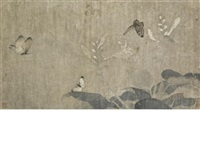 butterflies in flight by qian xuan