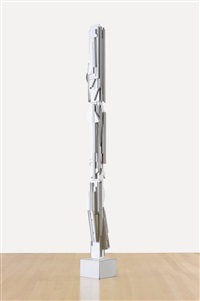 new dawn cathedral column by louise nevelson