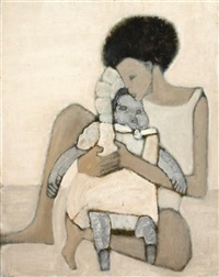 osnat with a doll by ori reisman