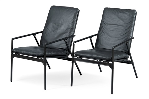 Folding Chairs (pair) By Richard Sapper