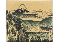 mt.fuji by kiyoshi yamashita