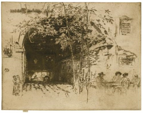 the traghetto, no. 2 by james abbott mcneill whistler
