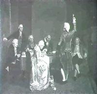 proposing a toast by frederik lintz