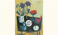 la table aux fleurs et aux fruits by élie pesatori