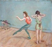 les danseuses en répétition by robert pikelny
