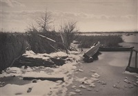 the first frost by peter henry emerson