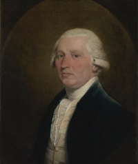 portrait of a gentleman by gilbert stuart
