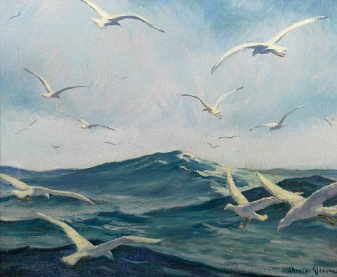 gulls by joe duncan gleason