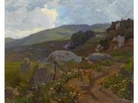 mountain path by elmer wachtel