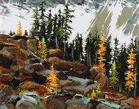 autumn arriving (yoho national park) by allan dunfield