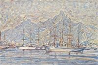 segelfartyg i rio by johann axel gustaf acke