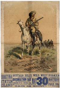 the scout buffalo bill by posters: buffalo bill