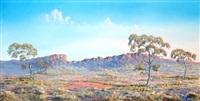 australian landscape by jack absalom