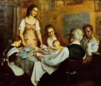 dîner de famille by boris nemensky