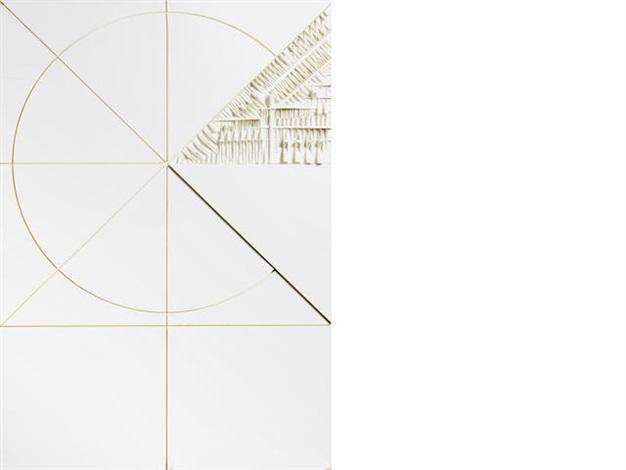 cerchio quadrato by arnaldo pomodoro