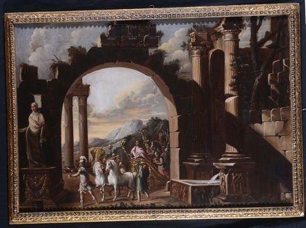 trionfo romano by viviano codazzi