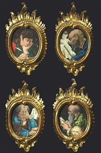 die vier evangelisten (set of 4) by vitus felix rigl