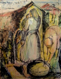 figures in safed by isidor asheim