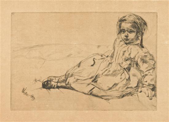 bibi valentin by james abbott mcneill whistler