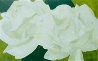 ohne titel (weisse rosen) by anne loch