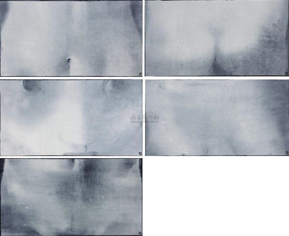 无题 untitled 5 works by cai guangbin