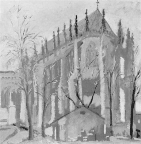 cathedral at beauvais by norris embry