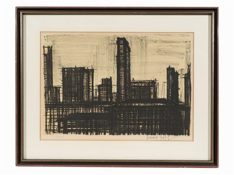 Fantastic Lithograph From The Album New York By Bernard Buffet On Artnet Home Interior And Landscaping Ologienasavecom
