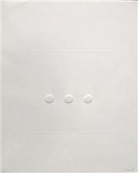 calcografia (bianco) by turi simeti