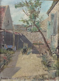 ferme à auvers by albert haug