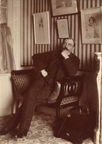 octave mirbeau, écrivain et journaliste, le 18 novembre by paul marsan dornac