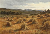 a harvest landscape by jane e. spindler