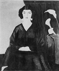 portrait of a lady by anna semenov