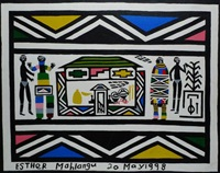 le foyer by esther mahlangu