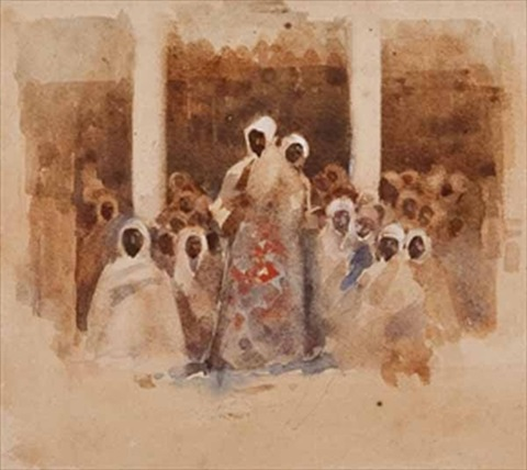 in morocco by arthur melville
